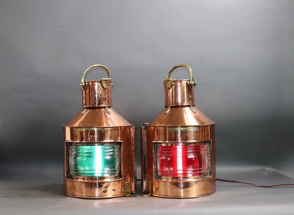 English Port and Starboard Lanterns