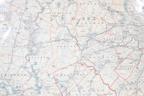 Original 1891 Walker Map