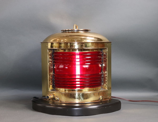 Polished Brass Ships Port Lantern