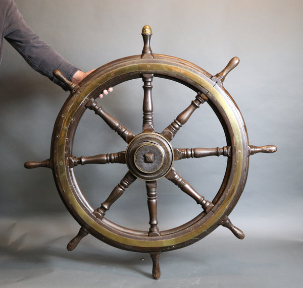 Clipper Ship era Oak Wheel