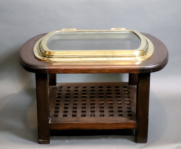 Rectangular Porthole Table