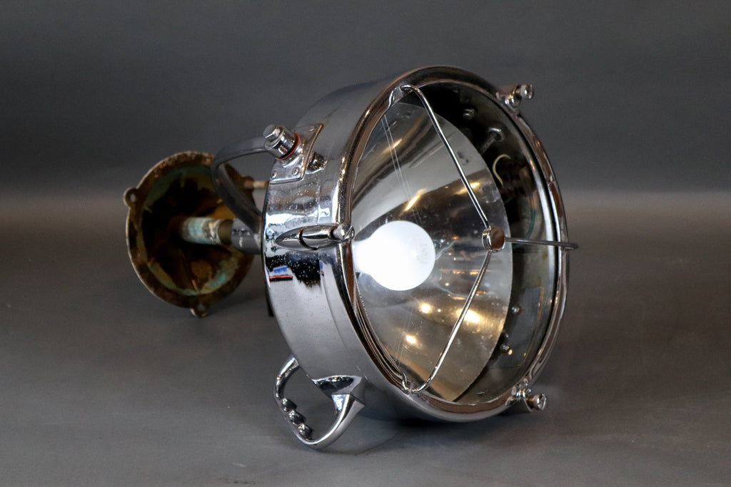 "Searchlight from Vanderbilt's ""Alva"""