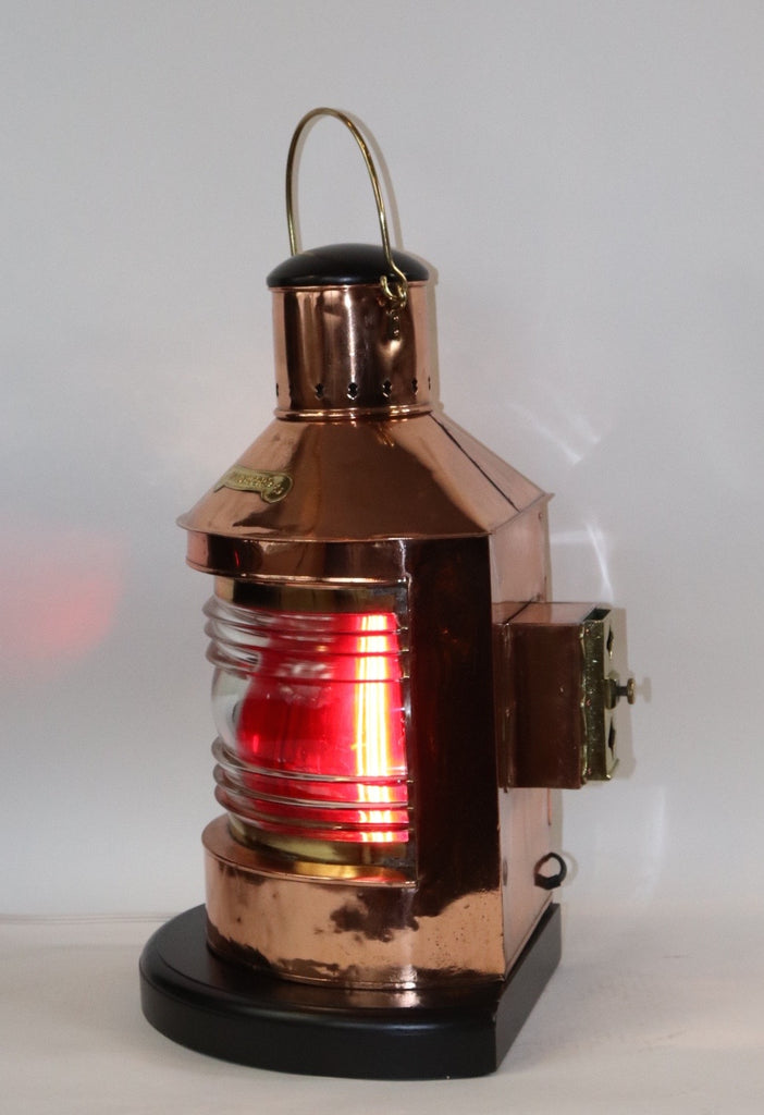 Dutch Ship Lantern with Copper Body