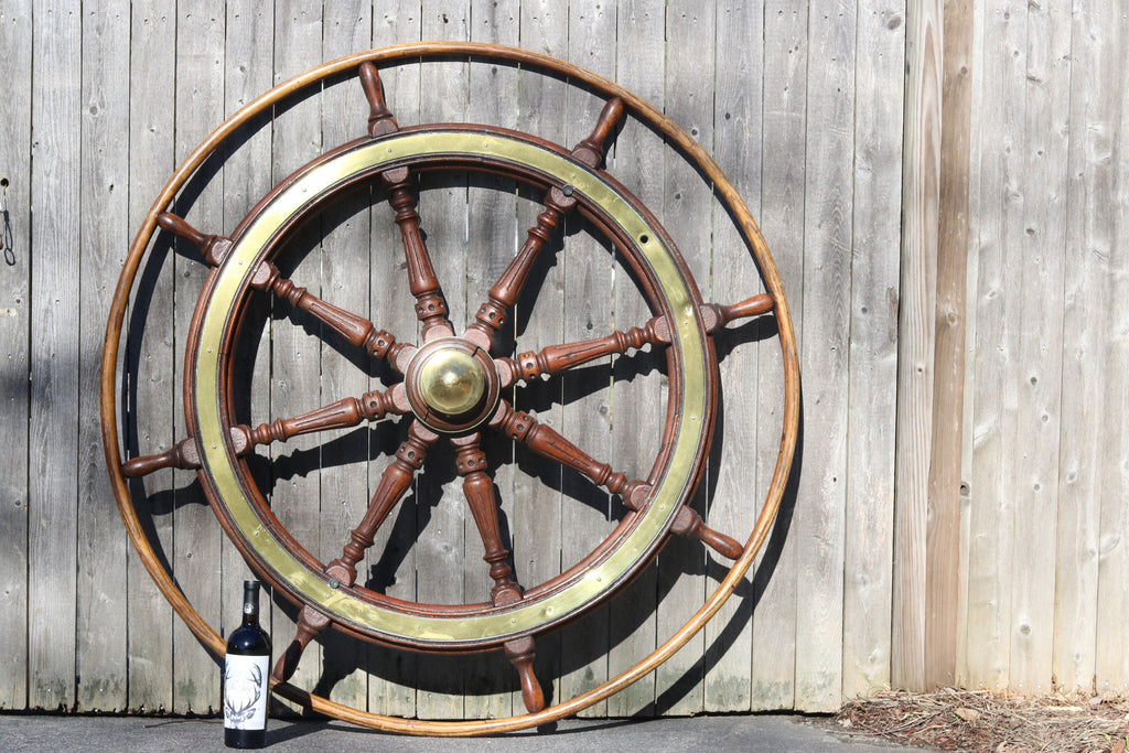Antique Ship's Wheel