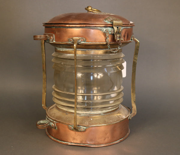 Anchor Lantern, Copper
