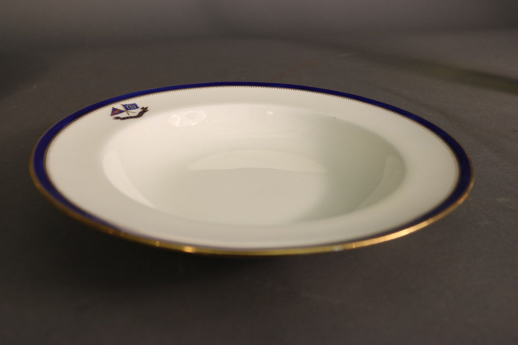 Minton's Porcelain | Soup Vessel | Exclusive Pattern of J. Pierpont Morgan