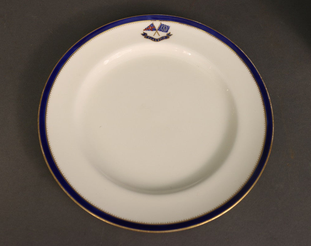 Luncheon Plate | Minton | New York Yacht Club | 1898
