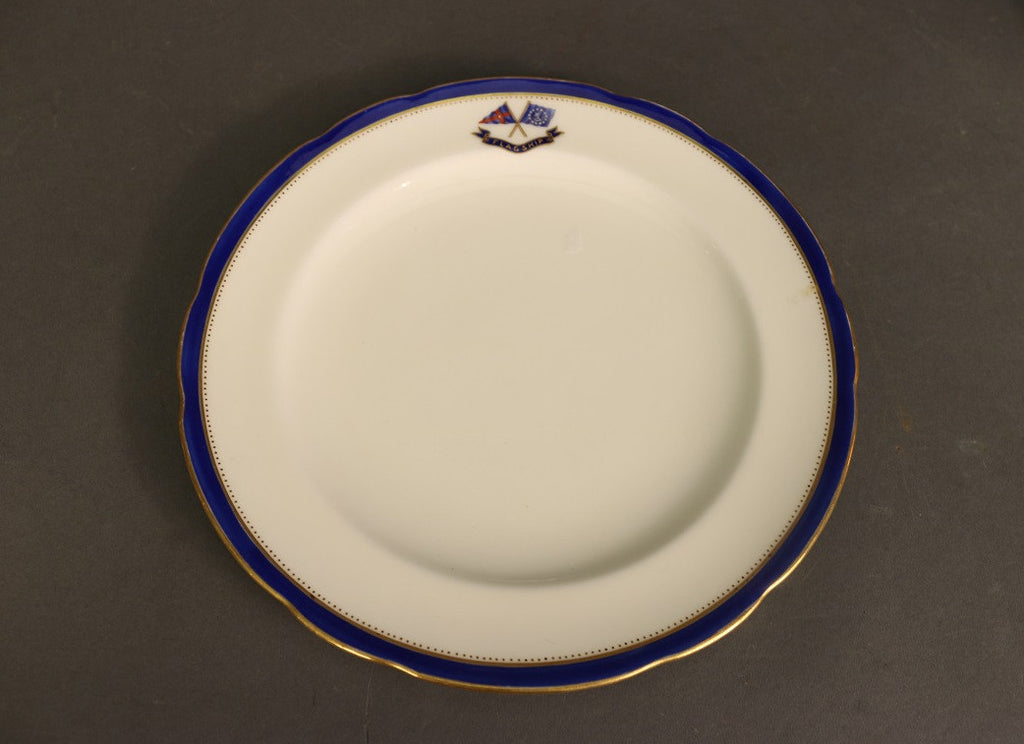 Luncheon Plate | Minton | Scalloped Border | J.P. Morgan's Corsair | 1890