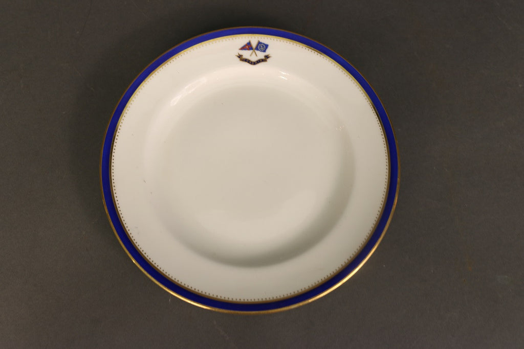 Porcelain Plate by Minton | from Corsair of 1890