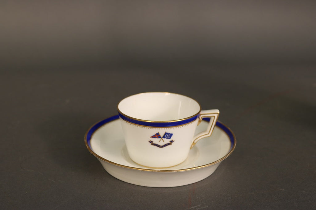 Corsair Banner House Flag Teacup & unmatching Saucer