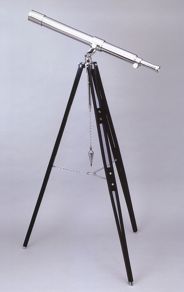 Tripod Telescope, chrome