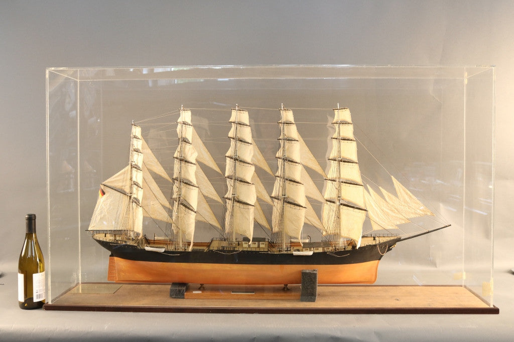 "Ship Model of German Barque ""Preussen"""