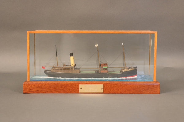 "Ship Model of the Trawler ""Ashfield"""