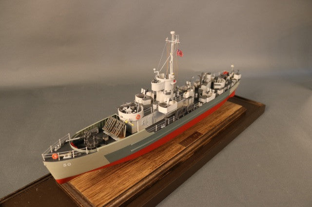 Ship Model of a LCS3 Naval Vessel