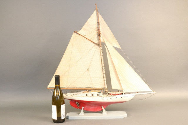 1950's Model of a Sloop