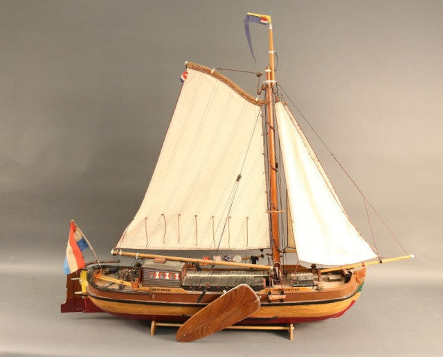 Large Model of a Dutch Trading Vessel