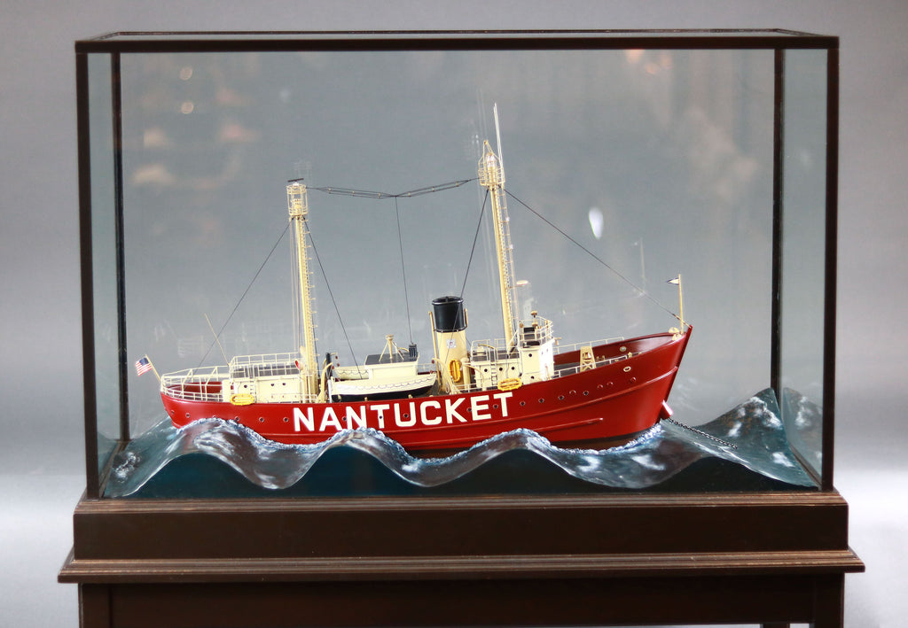 Cased Diorama | Nantucket Lightship