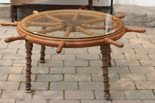 Ship's Wheel | Coffee Table