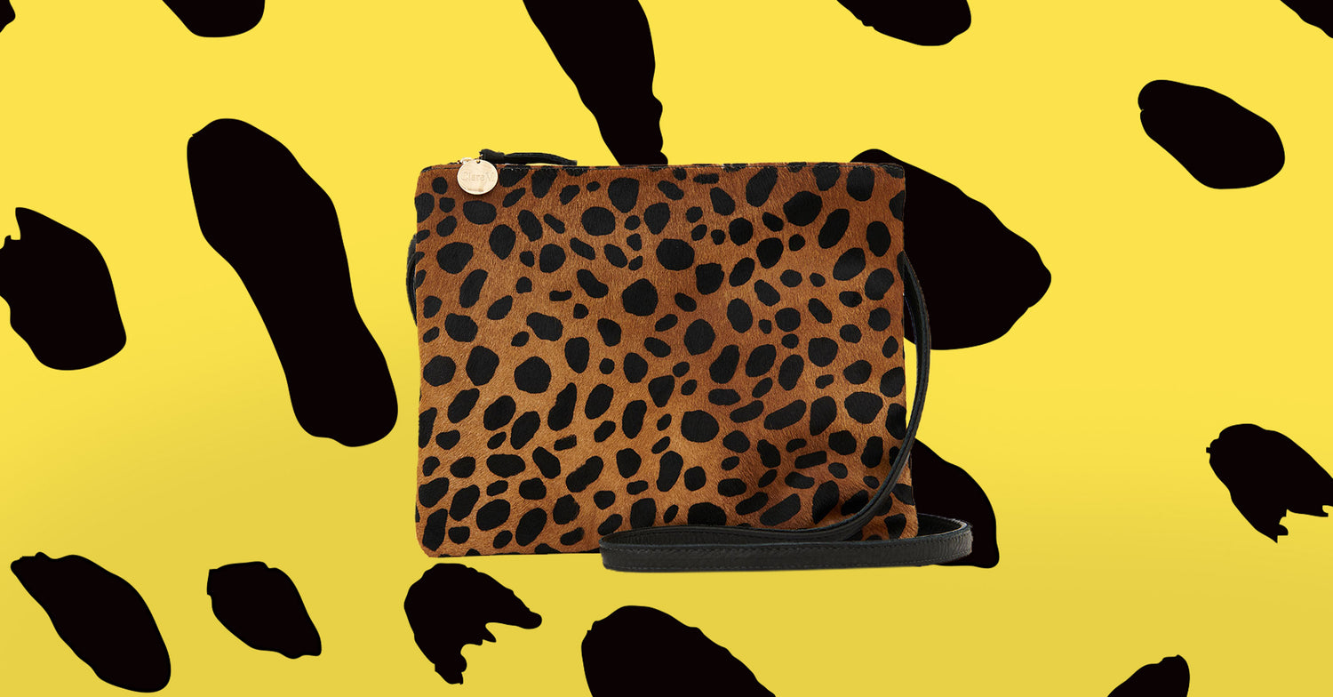 Leopard Double Sac Bretelle
