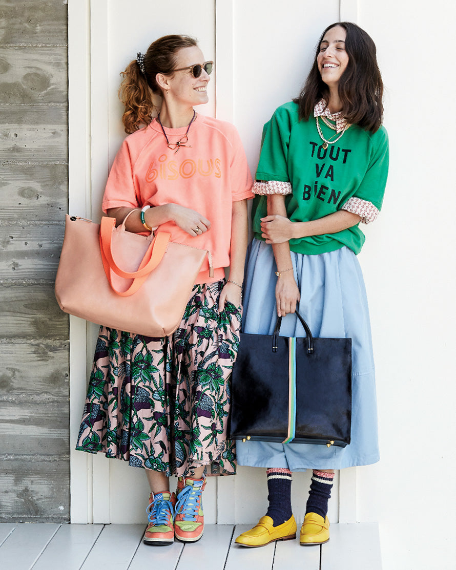 Le Zip Sac and Simple Tote