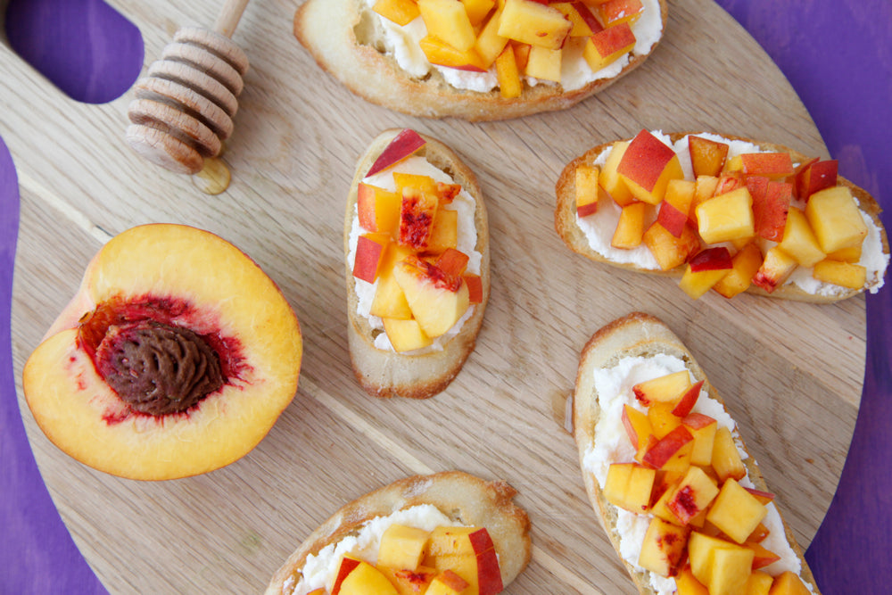 Peachy Keen Bruschetta