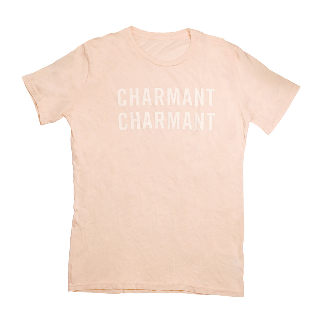 Tee - Blush w Cream Charmant Charmant LACMA
