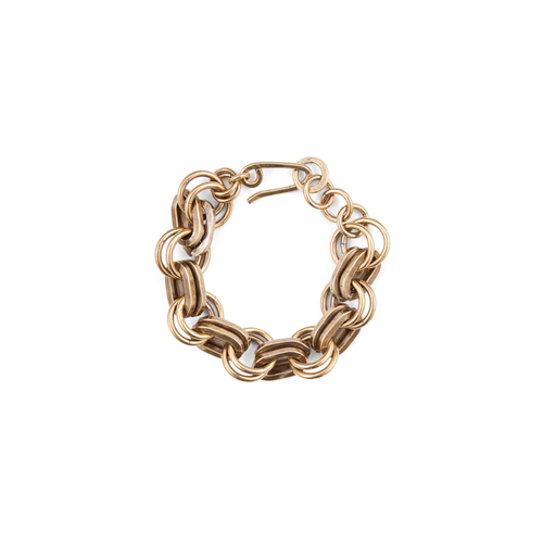 Annie Costello Brown - Simple Heavy Chain Bracelet