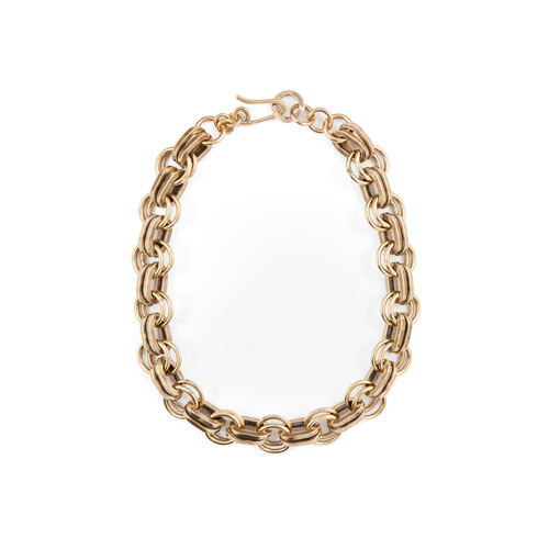 Annie Costello Brown - Short Simple Heavy Chain Necklace