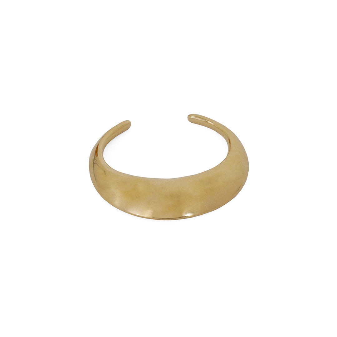 Annie Costello Brown Dome Cuff