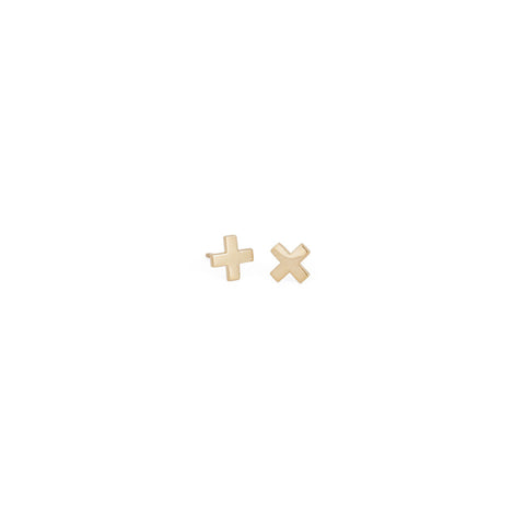 ACB-Cross-Earrings-14K-Gold