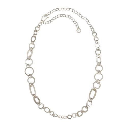 Annie Costello Brown Graduated Chain Necklace