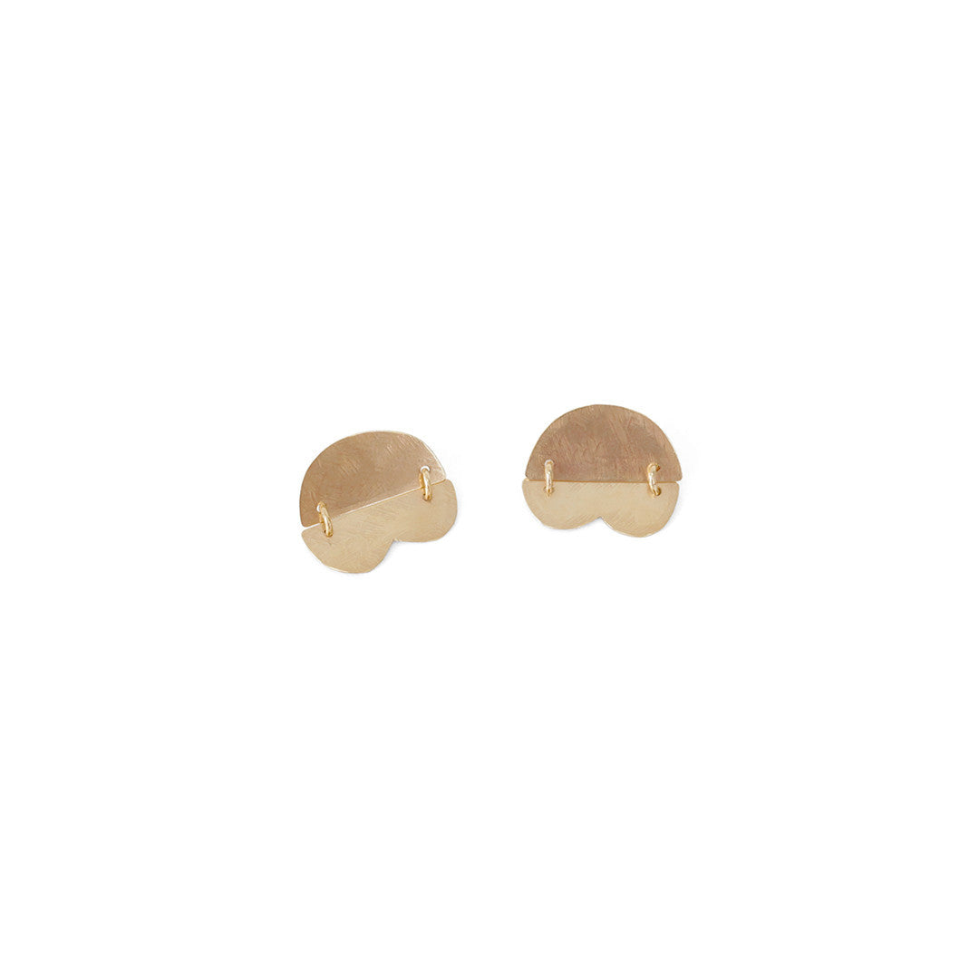 Annie Costello Brown Dova Earrings