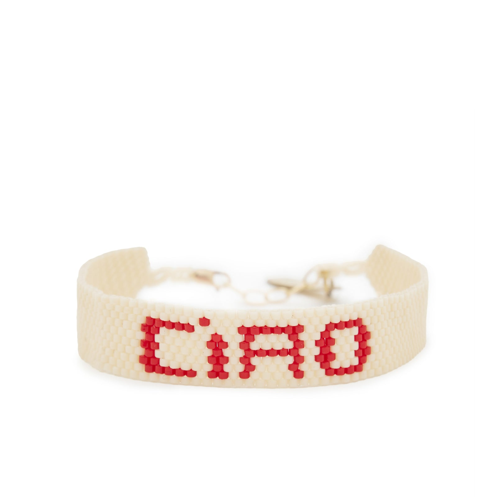 Bunny Shapiro Cream Ciao Stitch Bracelet