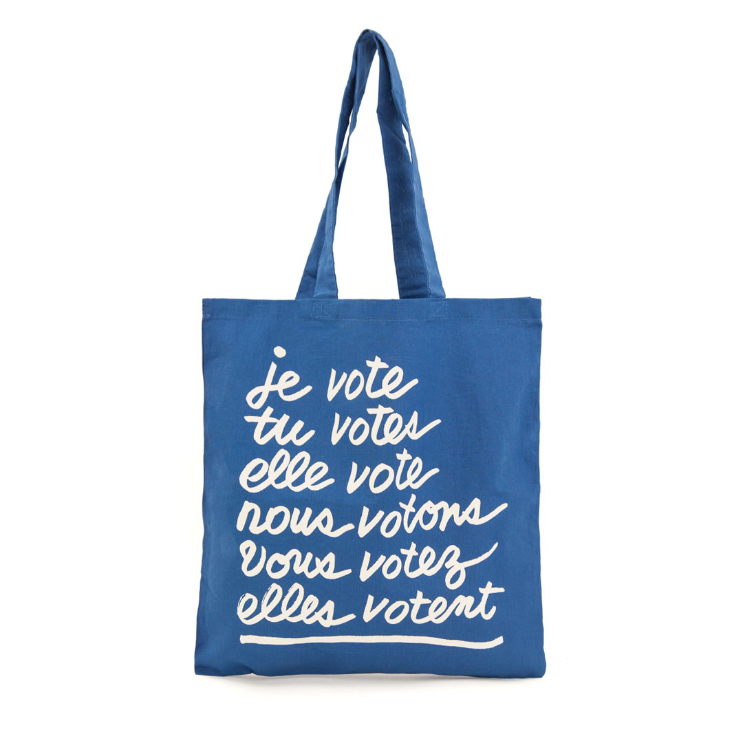 CV x When We All Vote Canvas Tote