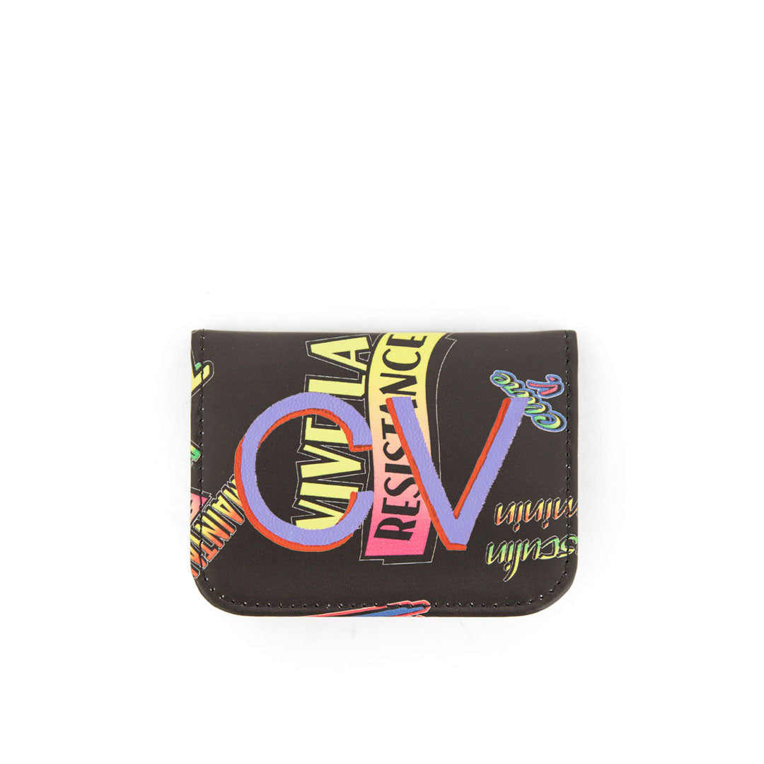 Clare V. x The Hundreds Card Case with Hand-Painted Monogram