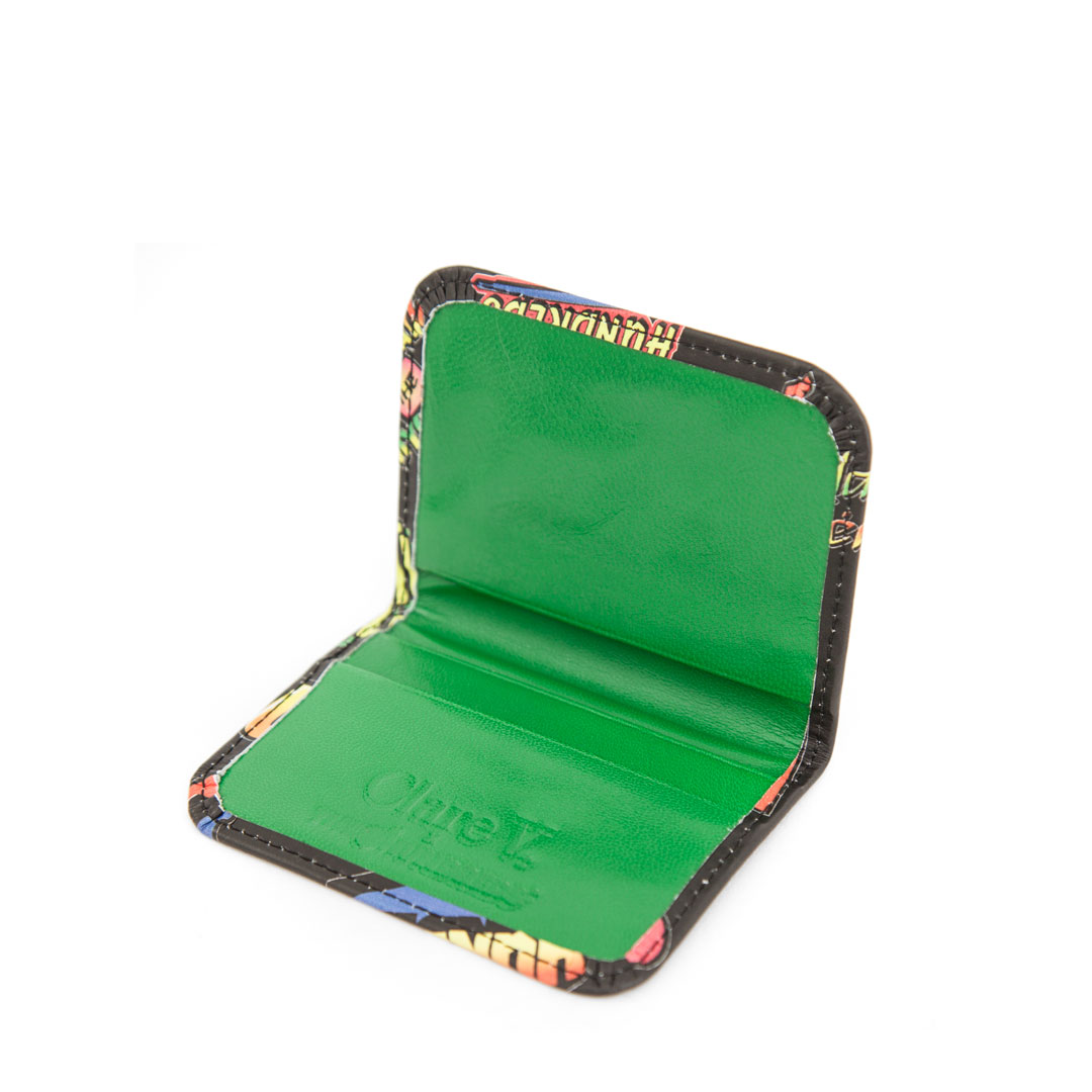 Clare V. x The Hundreds Card Case - Inside