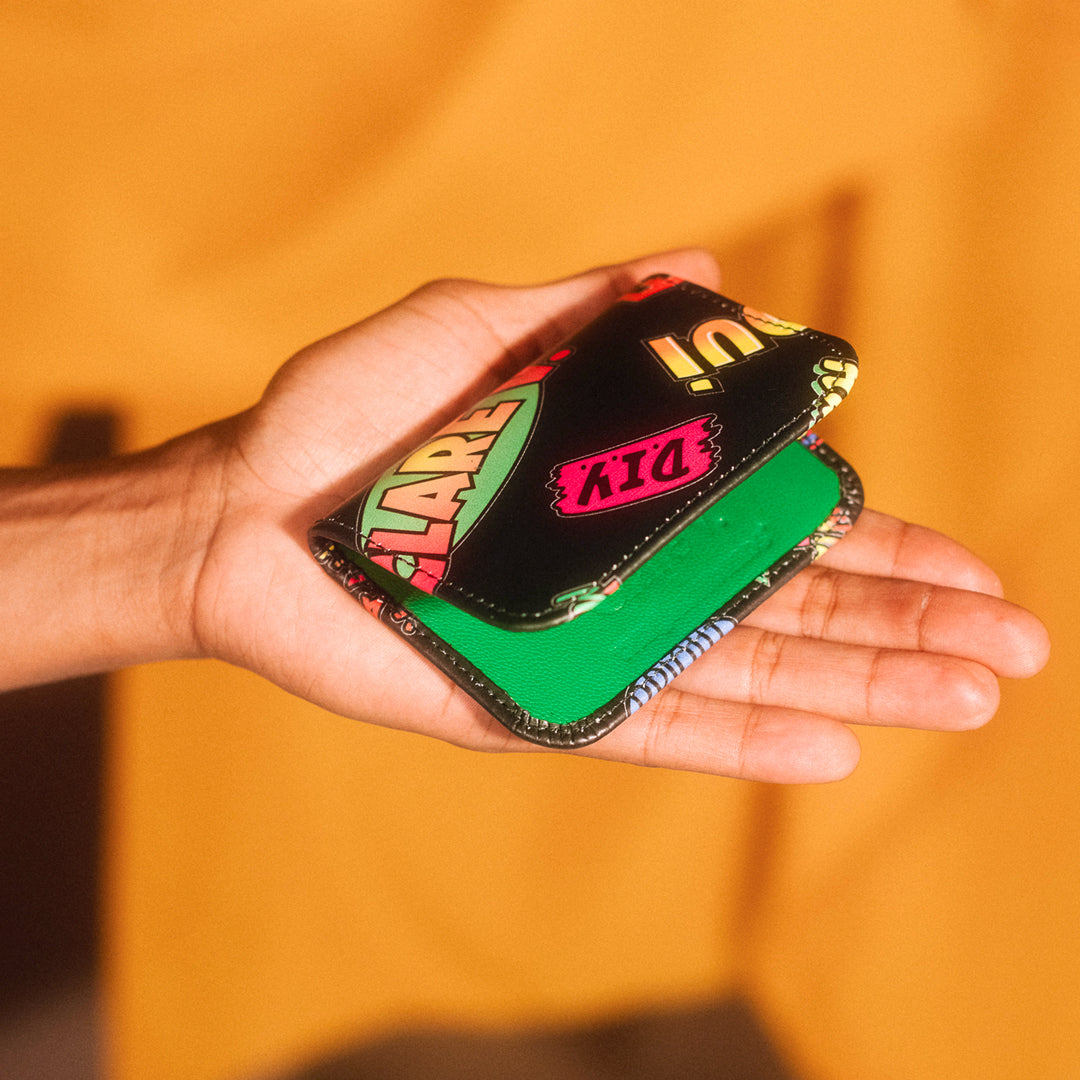 Clare V. x The Hundreds Card Case - In Hand