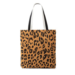 Tan Pablo Cat Suede Carryall - Front