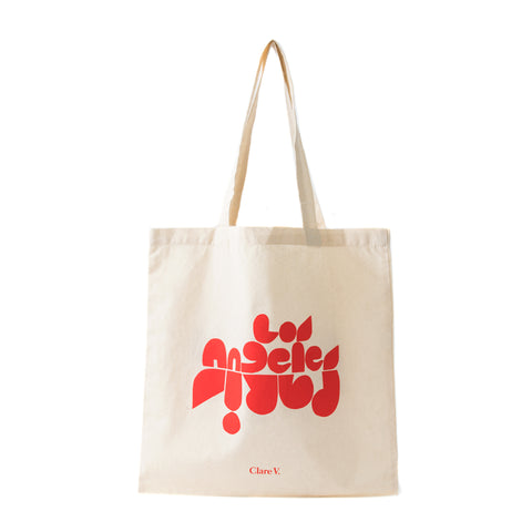 Paris Los Angeles Tote Bag