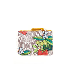 Strawberry Snake Coin Clutch - Back