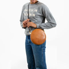 Crossbody Circle Clutch