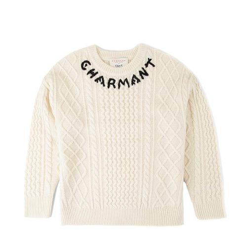 Clare V. x DEMYLEE Fisherman Sweater