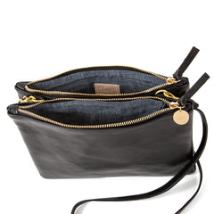 Black Rustic Double Sac Bretelle - Interior