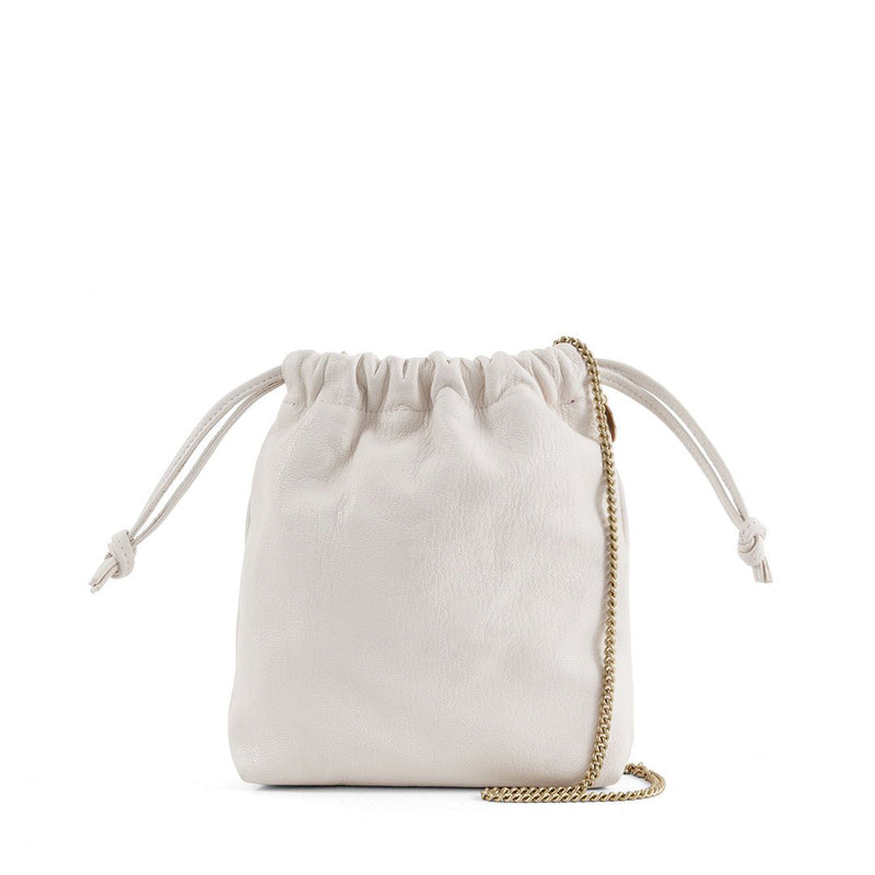 Drawstring Pouch with Shoulder Strap