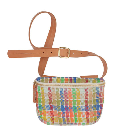 Madras-Weave-Fannypack