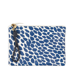 Pacific Jag Splash Flat Clutch with Cord Wristlet