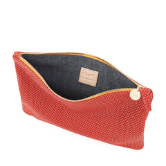 Poppy Reptile Flat Clutch - Interior