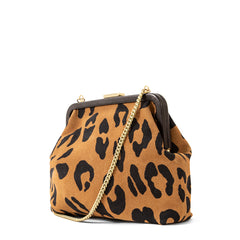 Tan Pablo Cat Suede Flore - Back