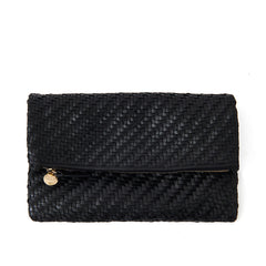 Foldover Clutch with Tabs