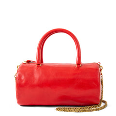 Cherry Red Grande Pepe with Thick Chain Strap
